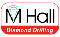 M Hall Diamond Drilling Logo